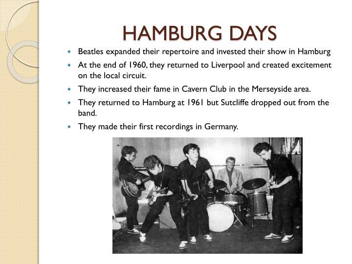 HAMBURG DAYS