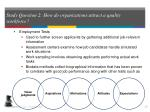 study question 2 how do organizations attract a quality workforce6