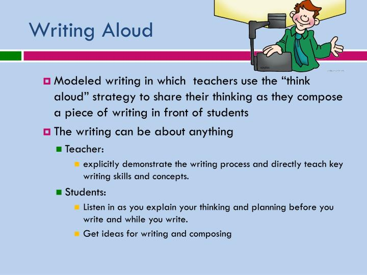 Writing Aloud