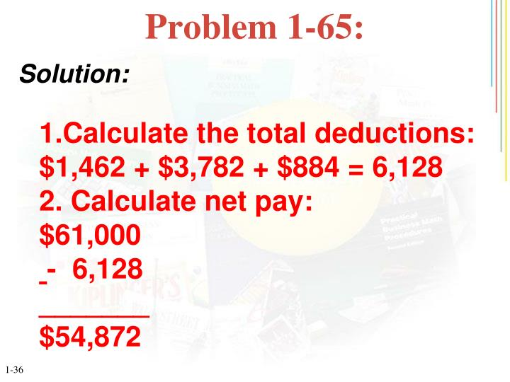 Problem 1-65: