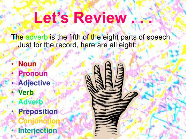 Let's Review . . .