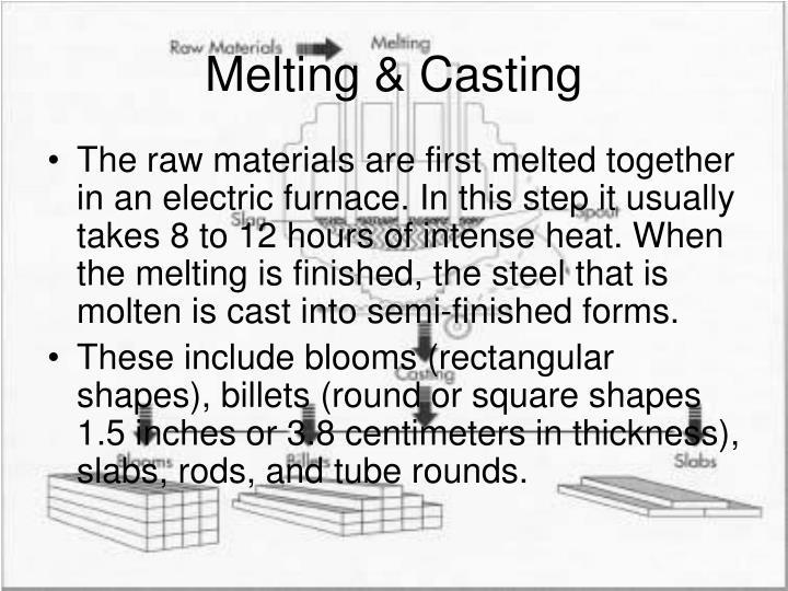Melting & Casting