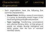 characteristics of learning organisation2