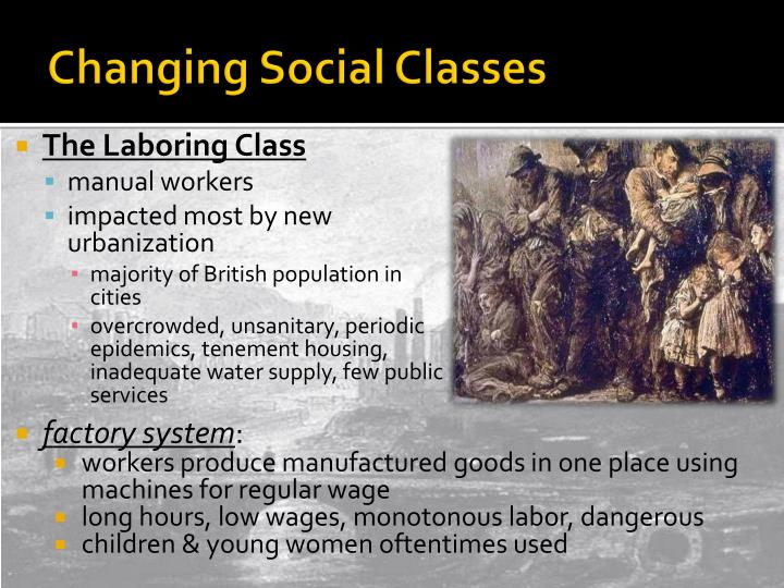 Changing Social Classes