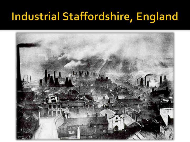 Industrial Staffordshire, England