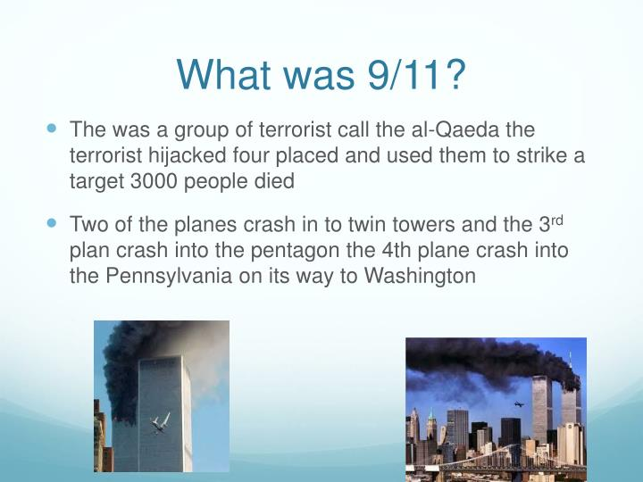 What was 9 11