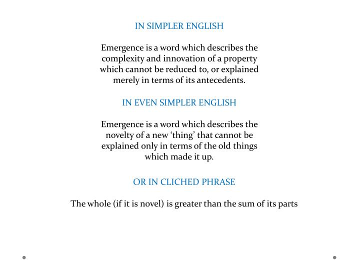 IN SIMPLER ENGLISH