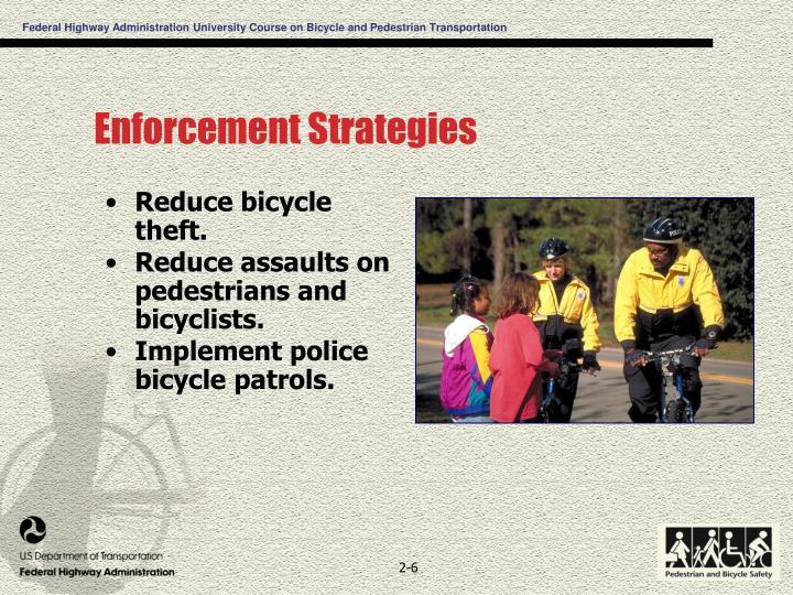 Enforcement Strategies