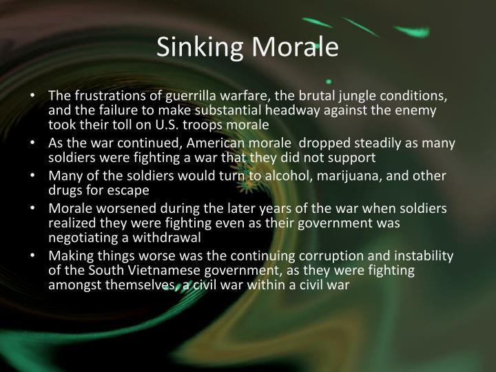 Sinking Morale