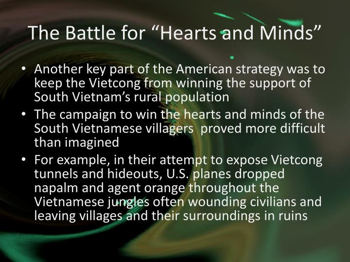 "The Battle for ""Hearts and Minds"""