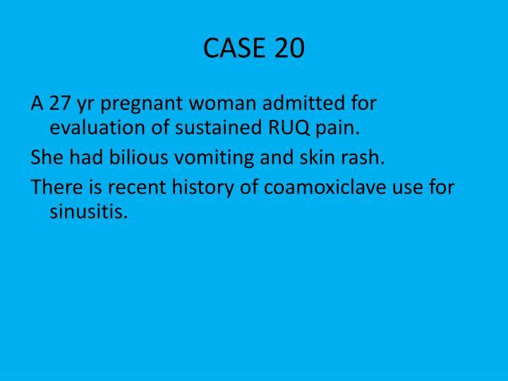 CASE 20