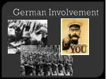 german involvement