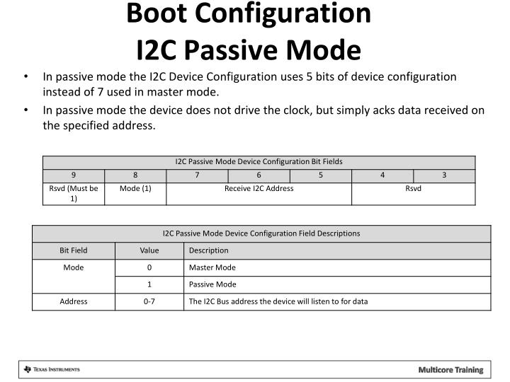 Boot Configuration