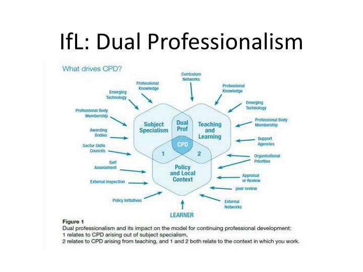IfL: Dual Professionalism