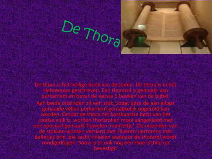 De Thora