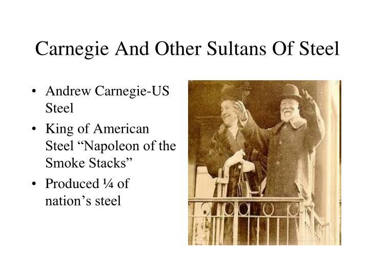 Andrew Carnegie-US Steel