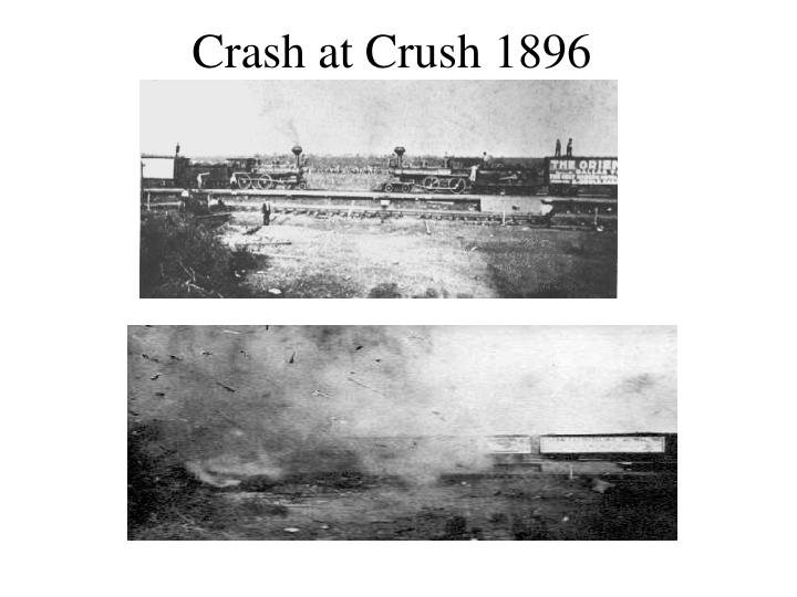 Crash at Crush 1896