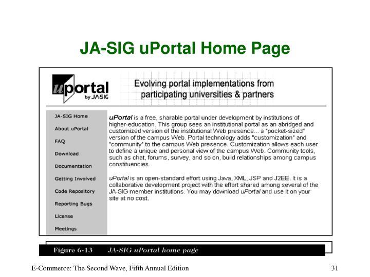 JA-SIG uPortal Home Page