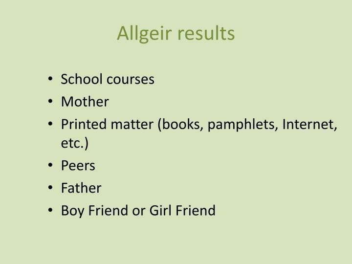 Allgeir