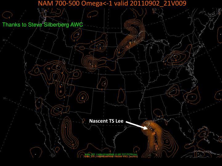 NAM 700-500 Omega<-1 valid 20110902_21V009