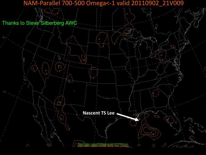 NAM-Parallel 700-500 Omega<-1 valid 20110902_21V009