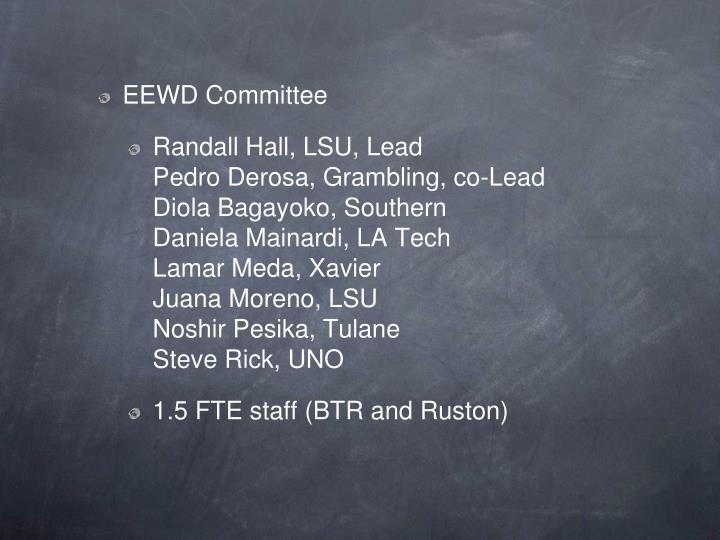 EEWD Committee
