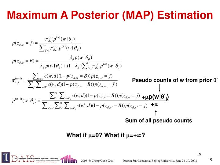 Maximum A Posterior (MAP) Estimation