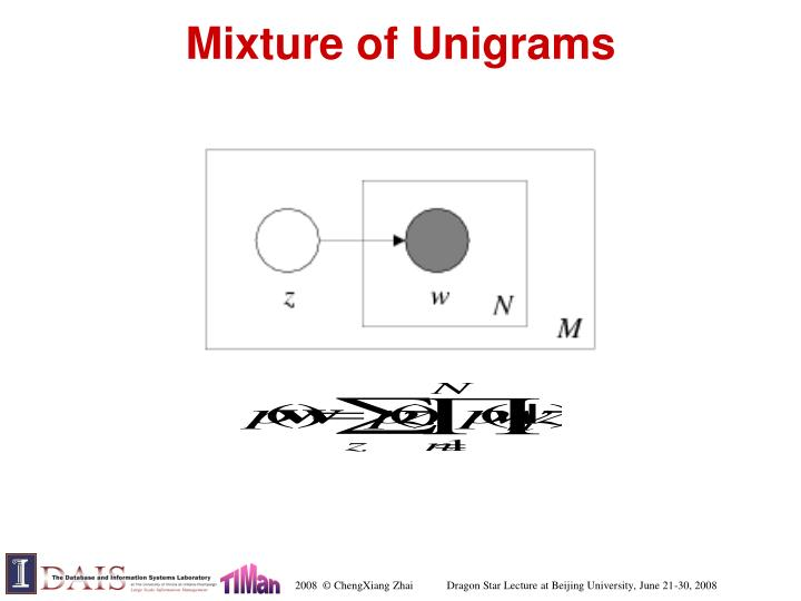 Mixture of Unigrams