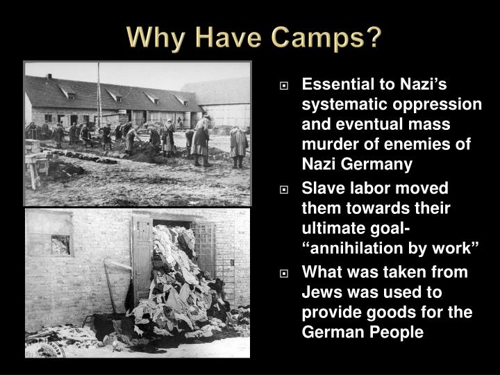 Why Have Camps?