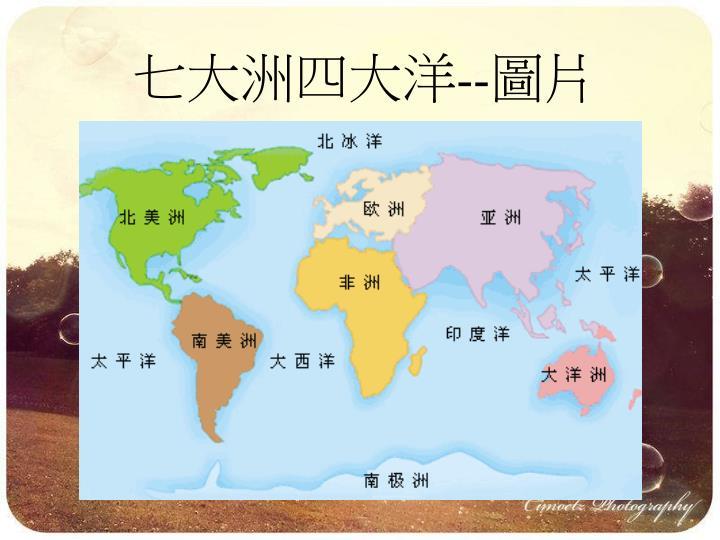 七大洲四大洋--