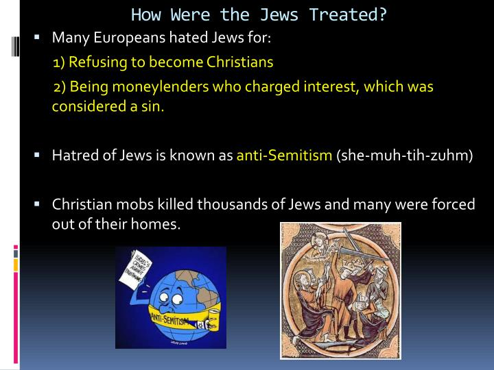 How Were the Jews Treated?