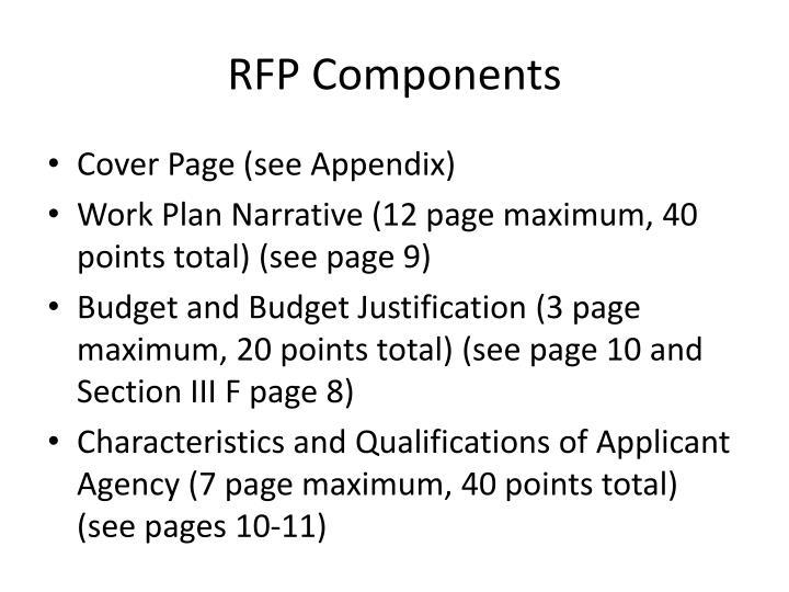 RFP Components