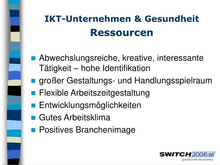 IKT-Unternehmen & Gesundheit