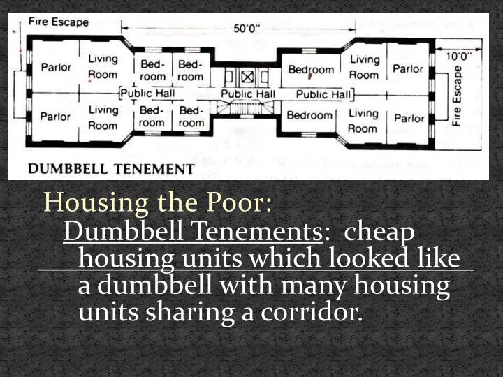 Housing the Poor: