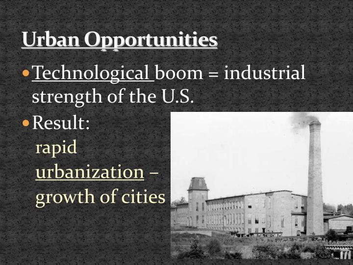 Urban Opportunities