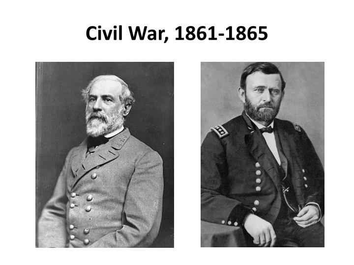 Civil war 1861 1865
