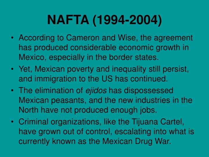 NAFTA (1994-2004)