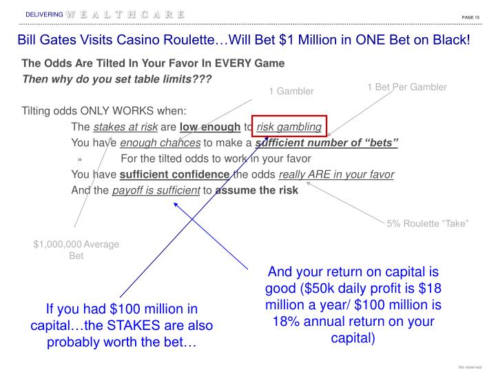 Bill Gates Visits Casino Roulette…Will Bet $1 Million in ONE Bet on Black!