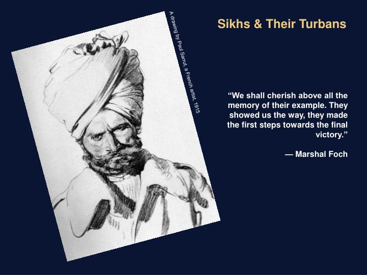 Sikhs & Their Turbans