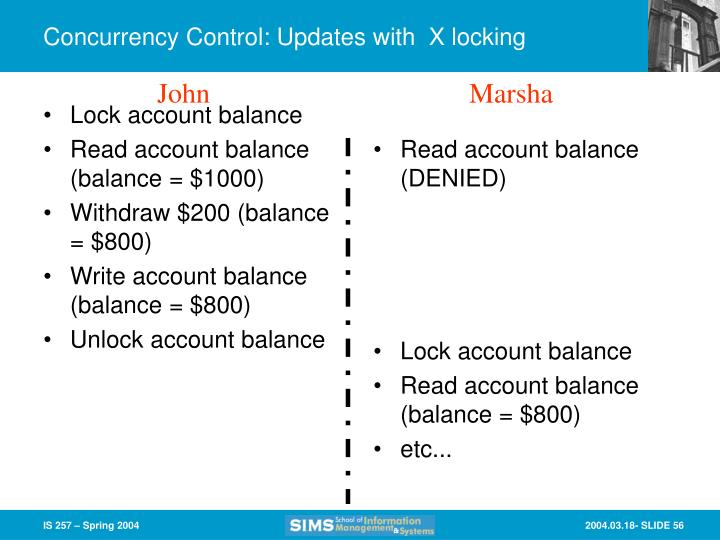 Lock account balance