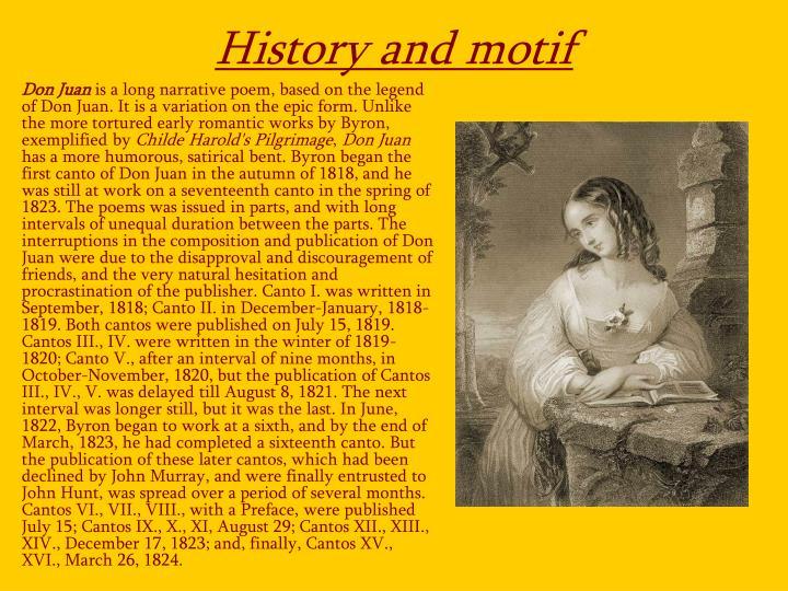 History and motif