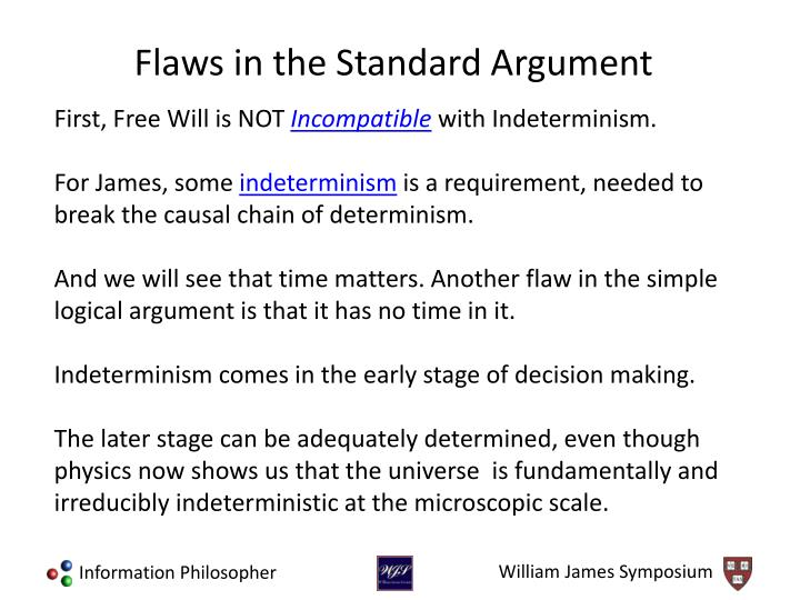 First, Free Will is NOT
