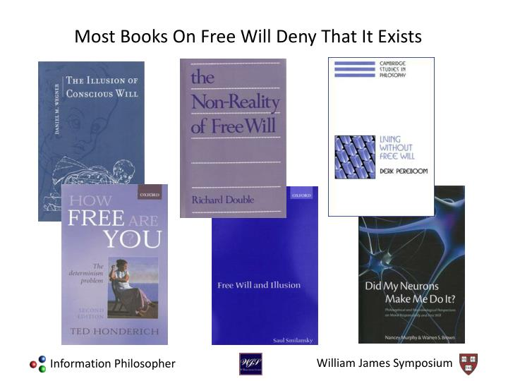 Most Books On Free Will Deny That It Exists