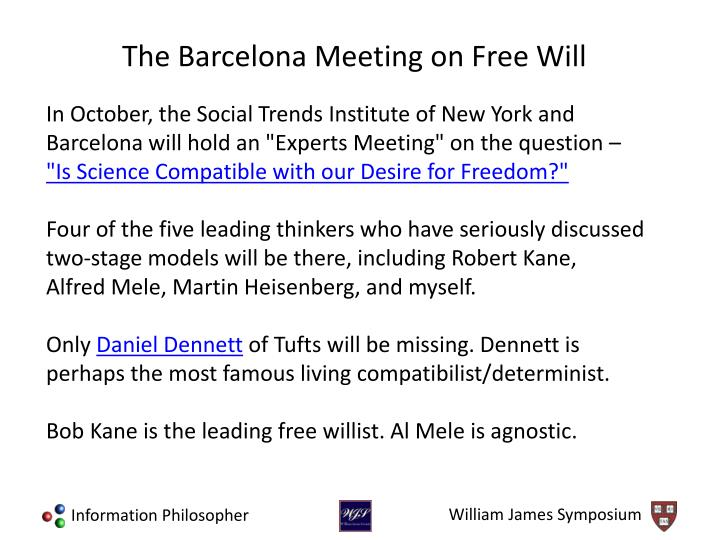 "In October, the Social Trends Institute of New York and Barcelona will hold an ""Experts Meeting"" on the question –"