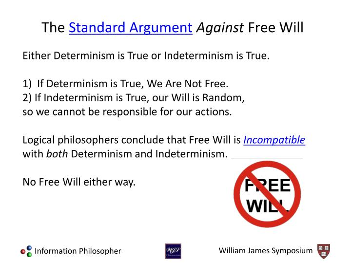 Either Determinism is True or Indeterminism is True.