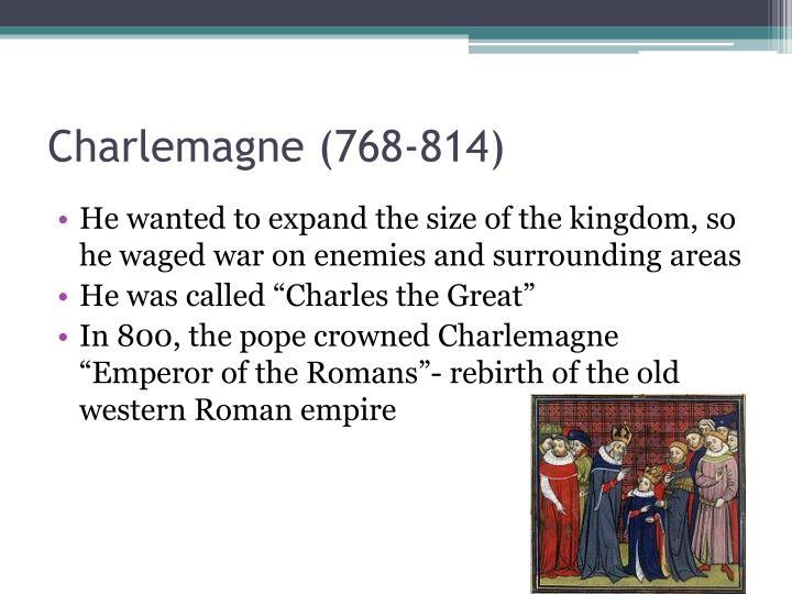 Charlemagne (768-814)