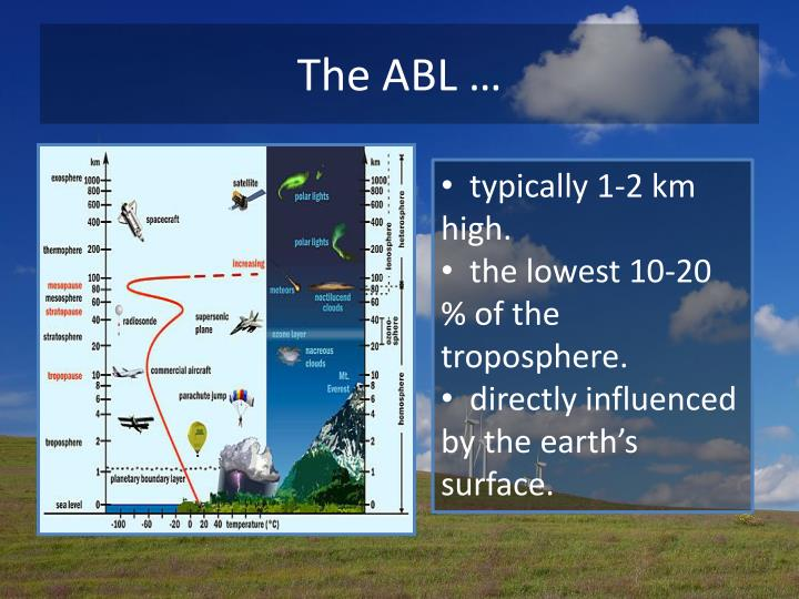 The ABL …