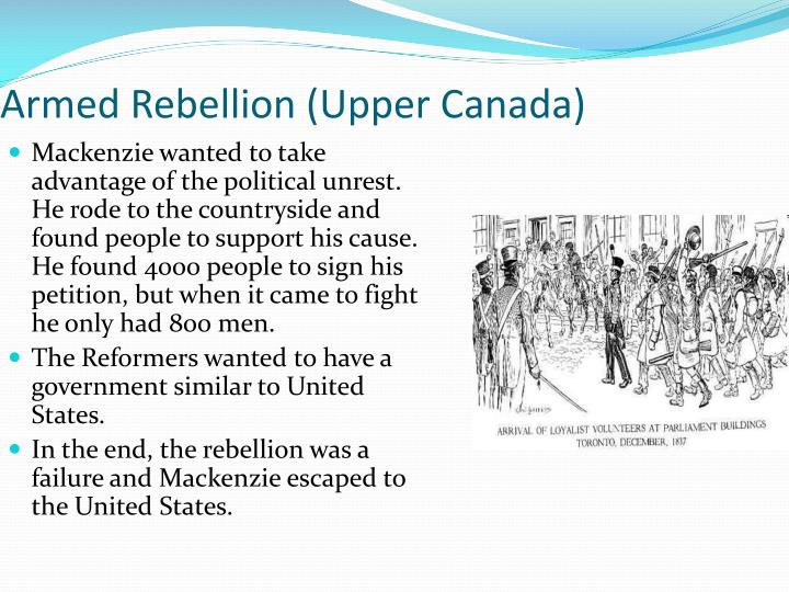 Armed Rebellion (Upper Canada)