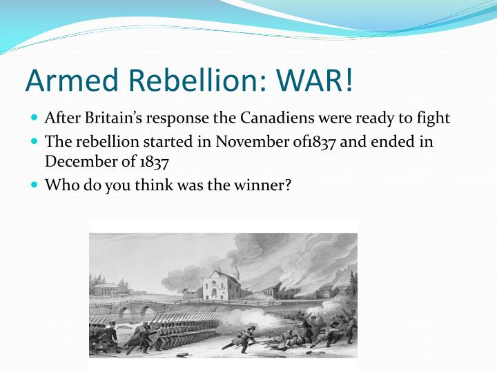 Armed Rebellion: WAR!