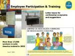 employee participation training